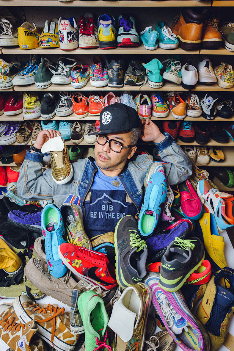 Shoe Collector | Tokyo Photographer Irwin Wong