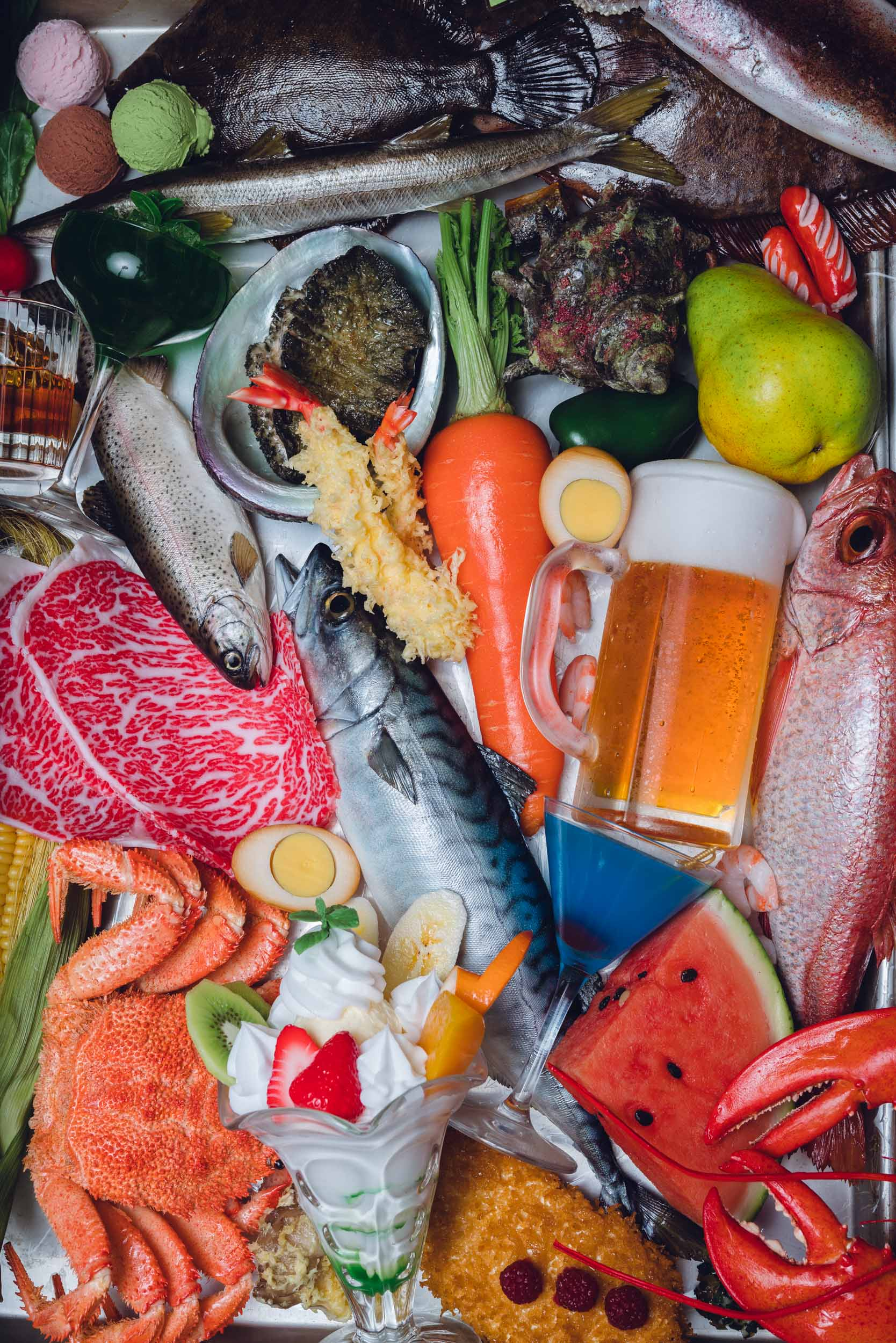 Tokyo Photographer Irwin Wong - Plastic Food Samples